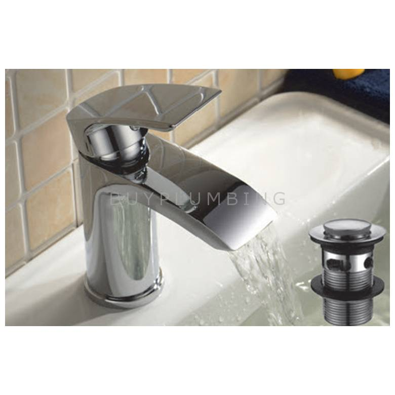 Hygienic Bathrooms Mono Basin Mixer With Sprung Waste (2202)