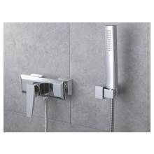 Hygienic Bathrooms Wall Mounted Exposed Thermostatic Shower Mixer