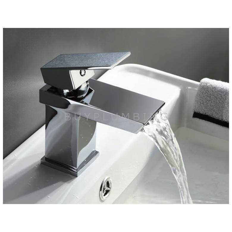 Hygienic Bathrooms Mono Basin Mixer With Sprung Waste (4902)