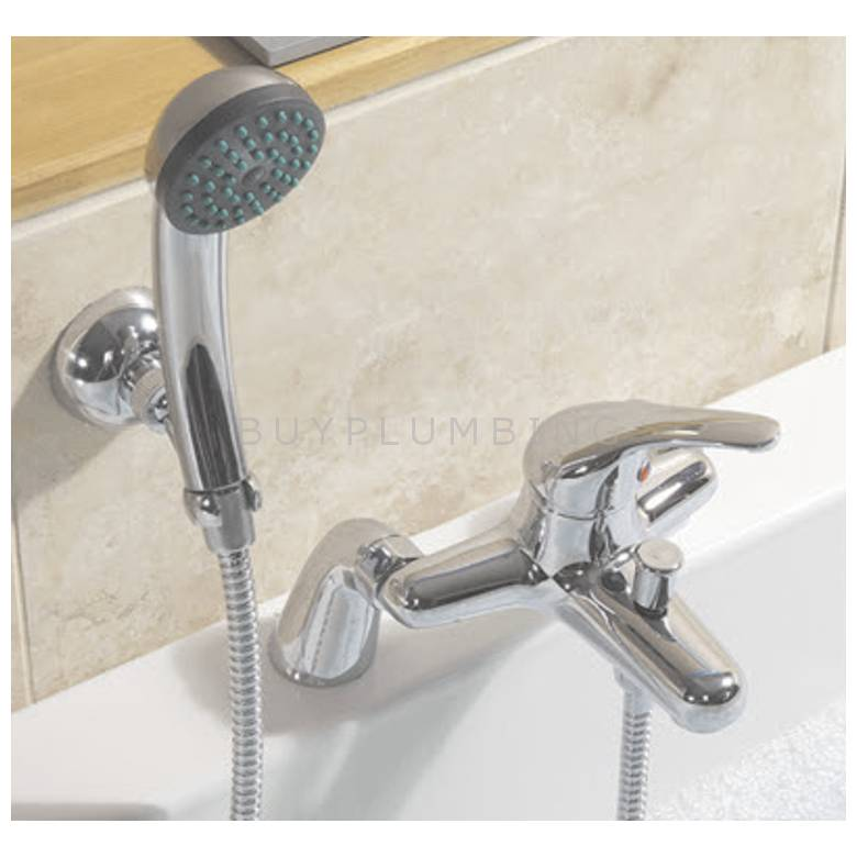 Hygienic Bathrooms Bath Shower Mixer With Shower Kit