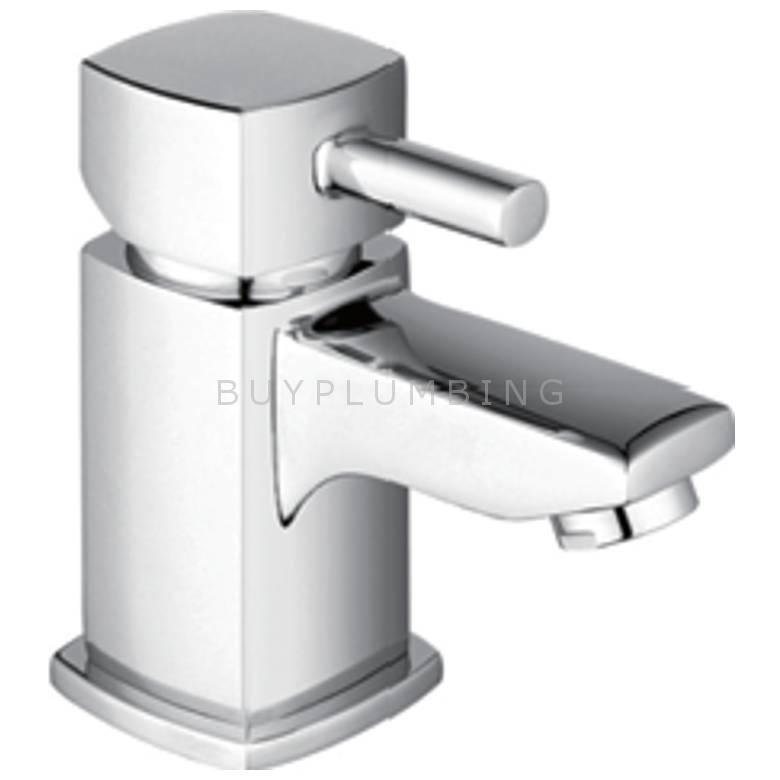 Hygienic Bathrooms Mini Mono Basin Mixer With Sprung Waste (5804)