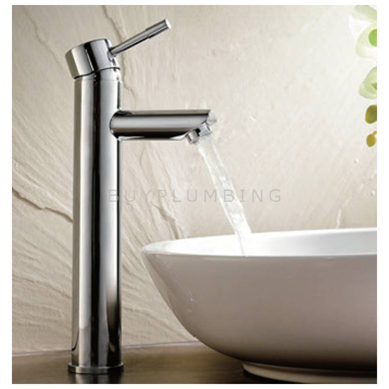 Hygienic Bathrooms Tall Mono Basin Mixer With Sprung Waste (7303)