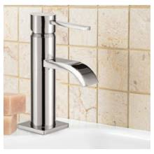 Hygienic Bathrooms Mini Mono Basin Mixer With Sprung Waste