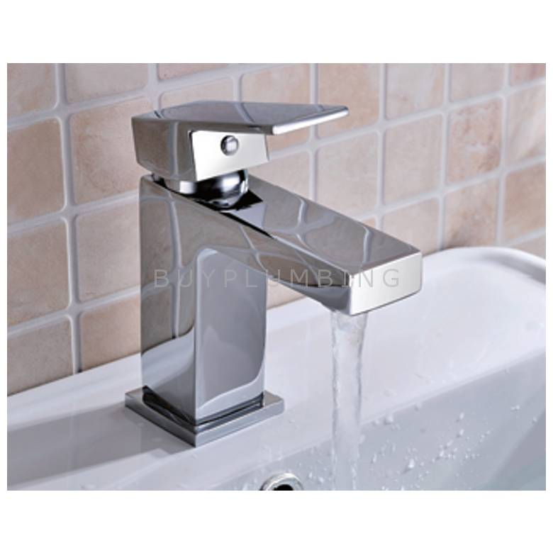 Hygienic Bathrooms Mono Basin Mixer With Sprung Waste (8802)