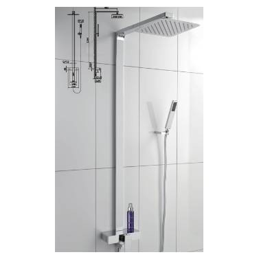 Hygienic Bathrooms Shower Mixer Kits