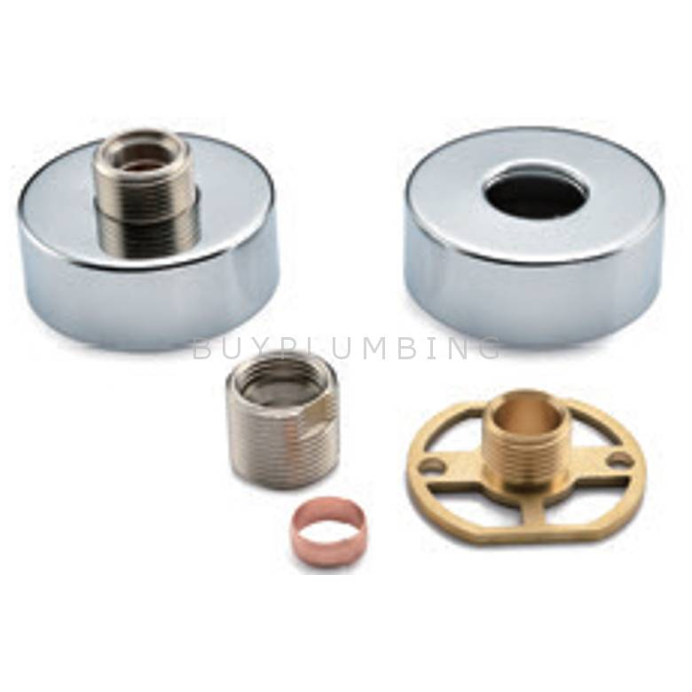 Hygienic Bathrooms Exposed Shower Valve Fast Fitting Kit (Pair) (EV02)