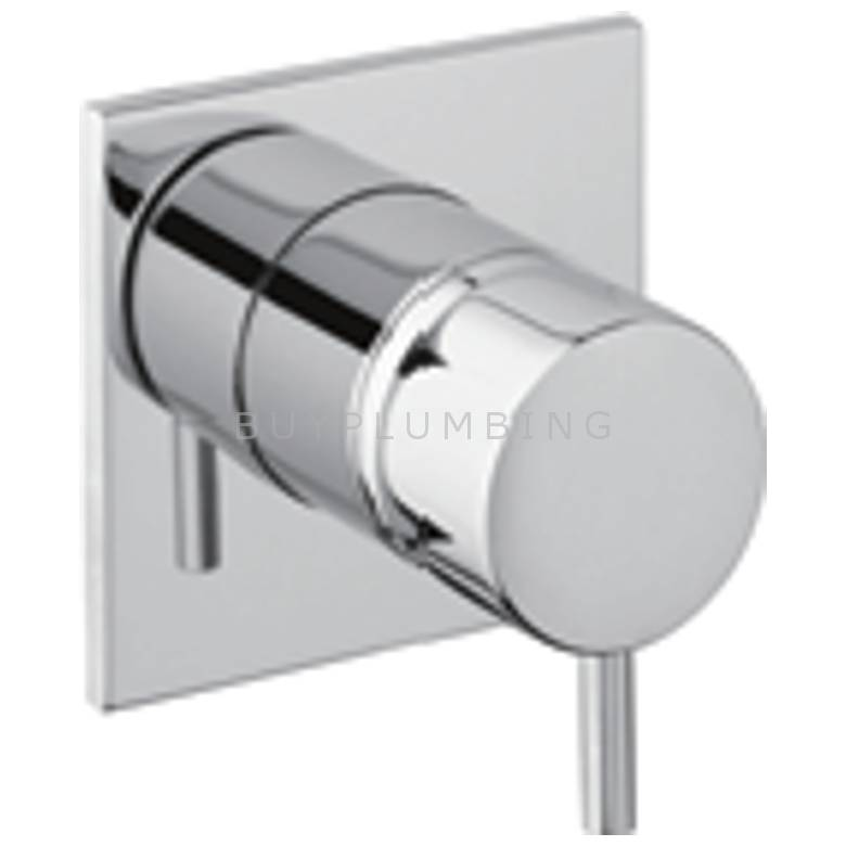 Hygienic Bathrooms Wall Mounted Concealed Basin Mixer Valve