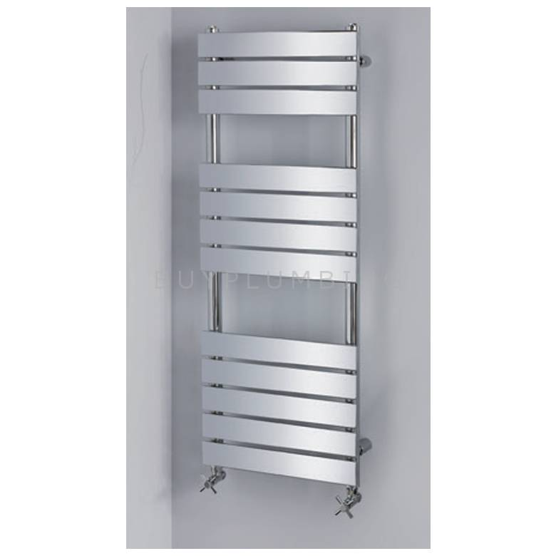 Hygienic Bathrooms 12 Bar Designer Towel Radiator H1200 x W500mm
