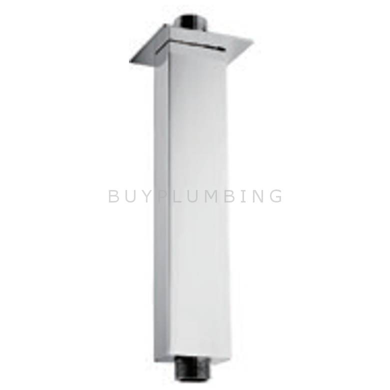 Hygienic Bathrooms 120mm Rectangular Ceiling Shower Arm (RS04)