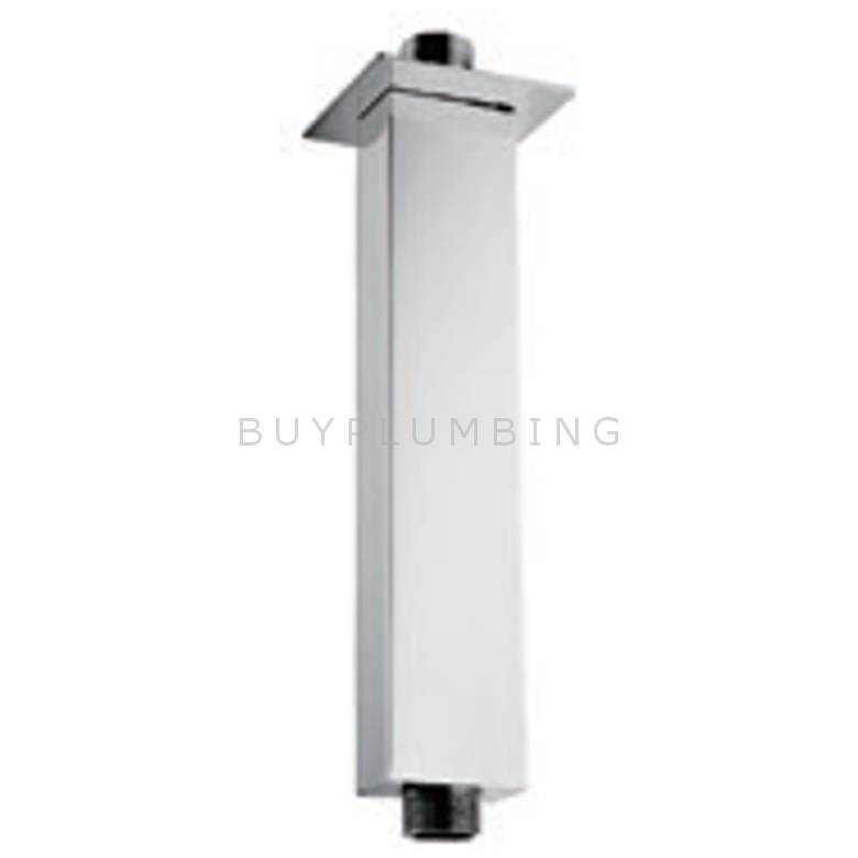 Hygienic Bathrooms 360mm Rectangular Ceiling Shower Arm (RS10)