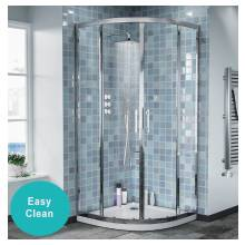 Hygienic Bathrooms Quadrant Shower Enclosure H1850 x W900 x D900mm