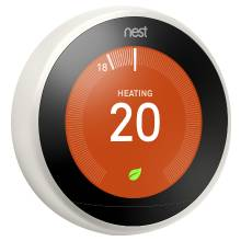 Nest 3rd Generation White Digital Learning Wi-Fi Thermostat (T3030EX)