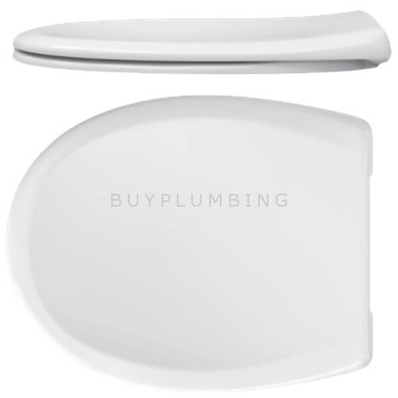 Taurus Valet Plus Soft Close Toilet Seat With Stainless Steel Hinges