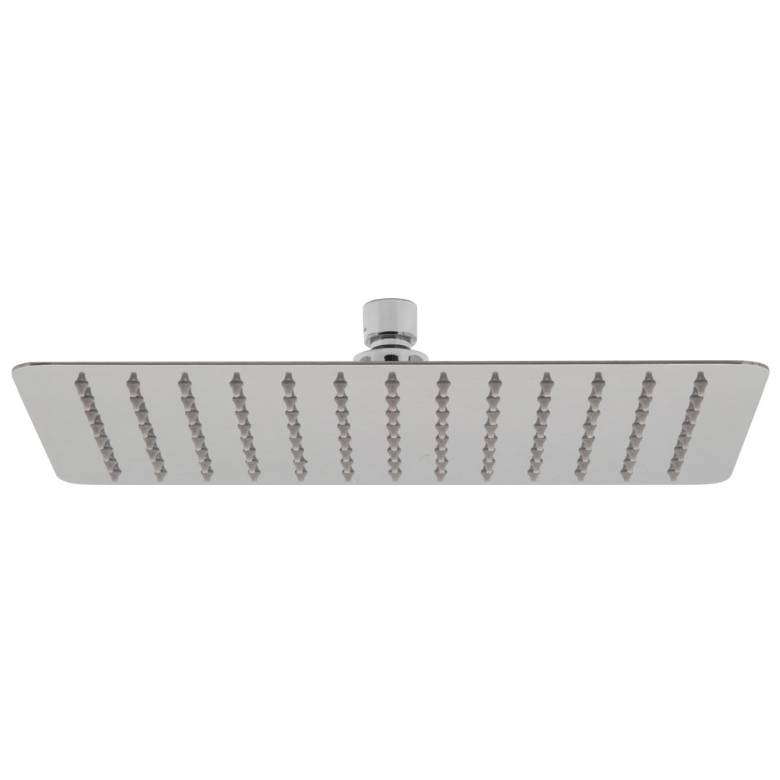 Vado Aquablade Rectangular Slimline Shower Head 200mm x 300mm (8'' x 12'')