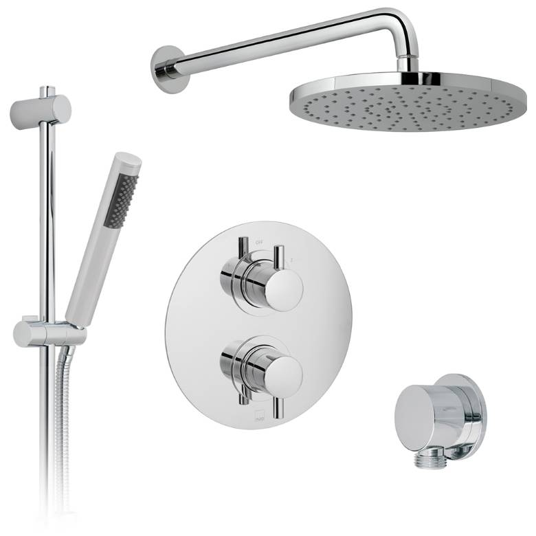 Vado Celsius 2 Outlet Thermostatic Shower Set