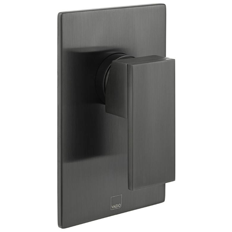 Vado Notion Brushed Black 1 Outlet Manual Valve (IND-NOT145A-BLK)