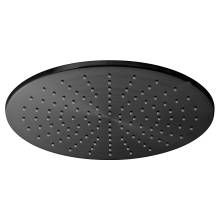 Vado Individual Brushed Black Round Slimline Shower Head 300mm (IND-RO/30-BLK)