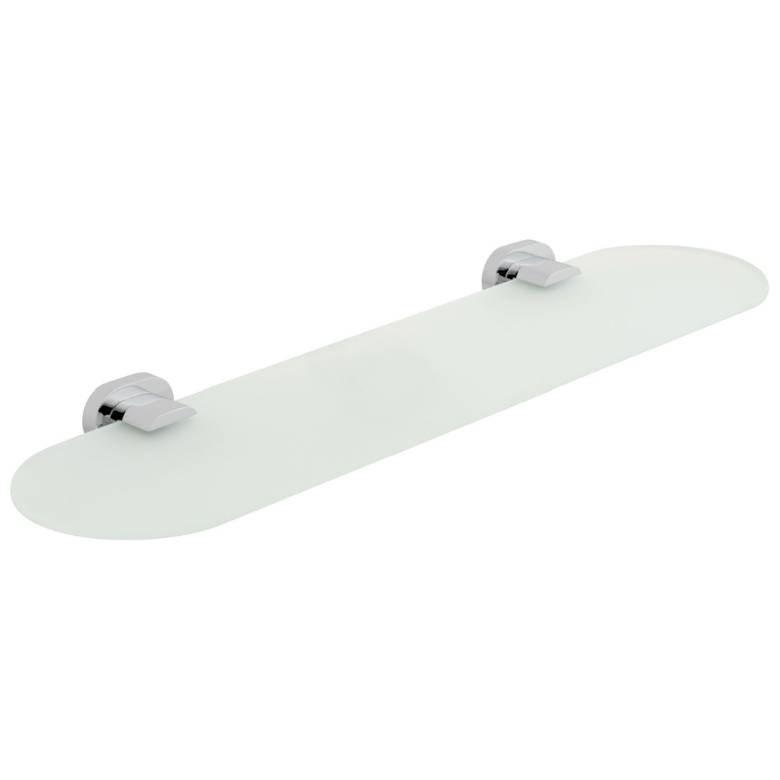Vado Life Frosted Glass Shelf 530mm (21'') (LIF-185-C/P)