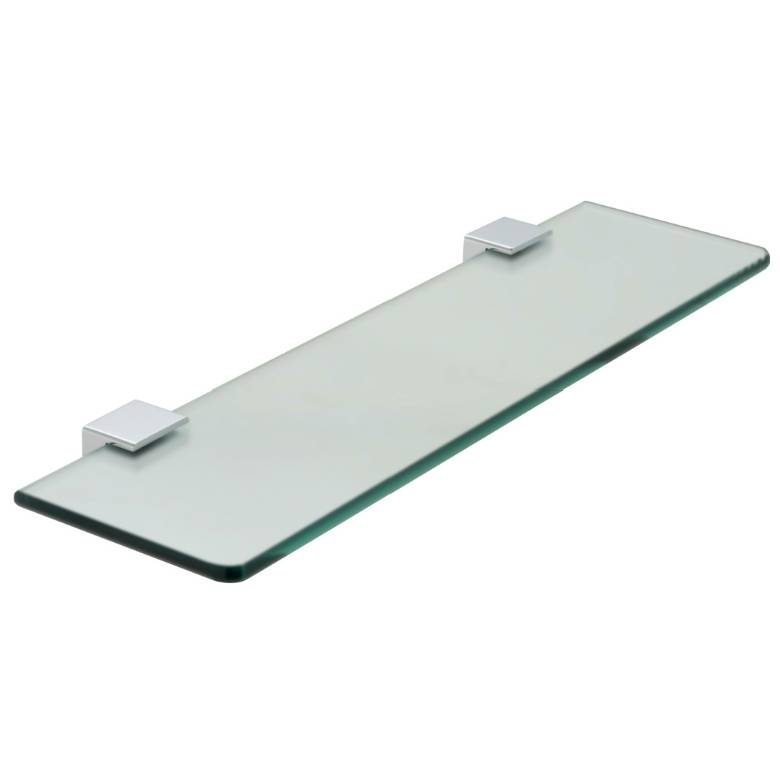 Vado Phase Frosted Glass Shelf 558mm (22'') (PHA-185-C/P)