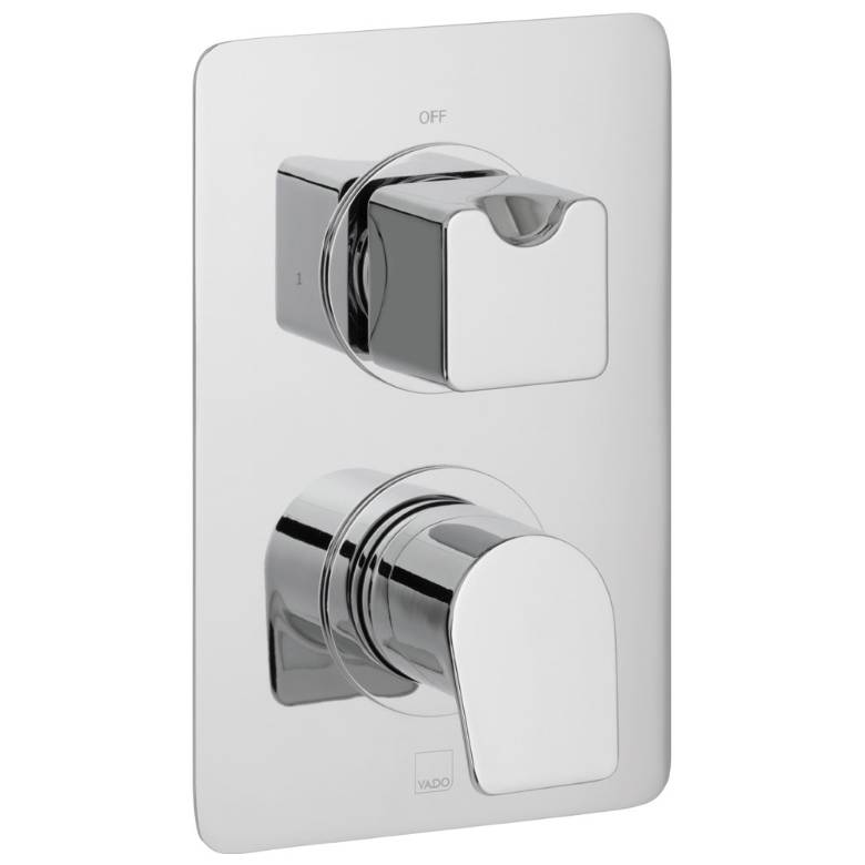 Vado Photon 1 Outlet, 2 Handle Thermostatic Valve