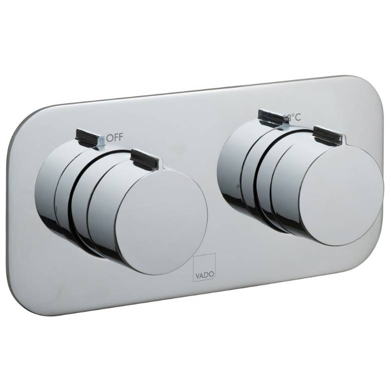 Vado Altitude 1 Outlet, 2 Handle Thermostatic Valve