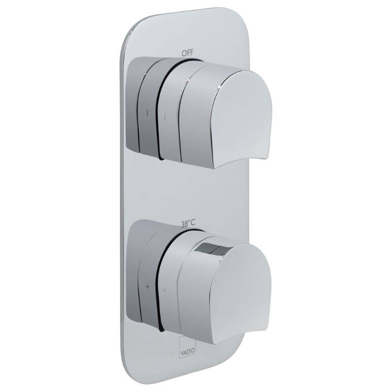 Vado Kovera 1 Outlet, 2 Handle Thermostatic Valve