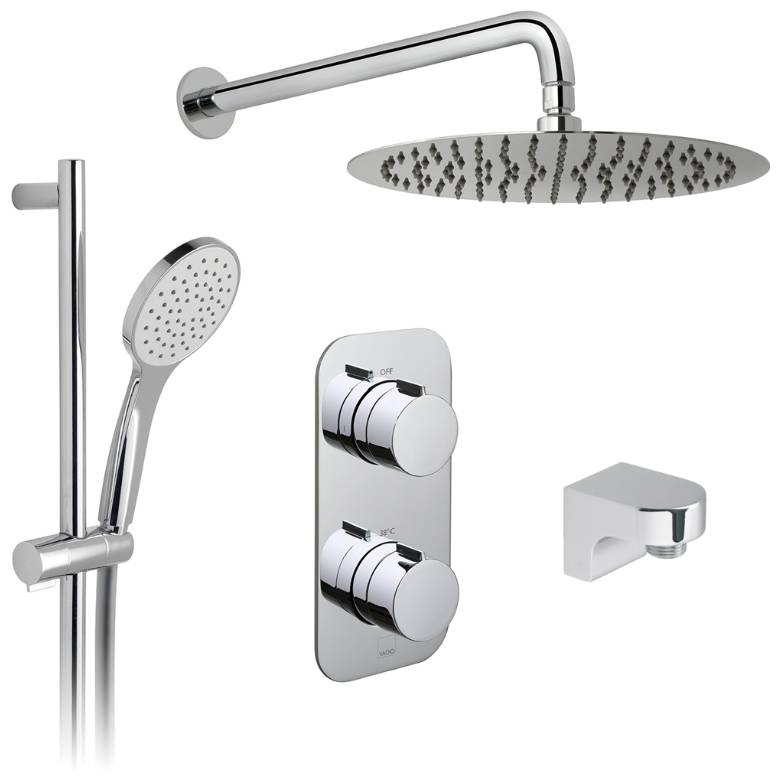 Vado Altitude 2 Outlet Thermostatic Shower Set (TAB-1720/ALT-AS-CP)