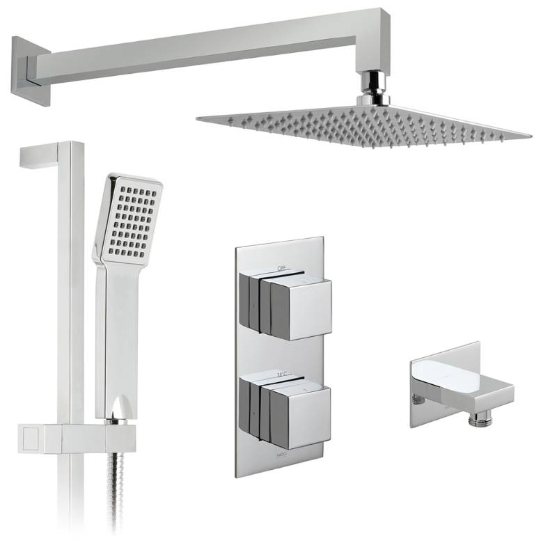 Vado Notion 2 Outlet Thermostatic Shower Set