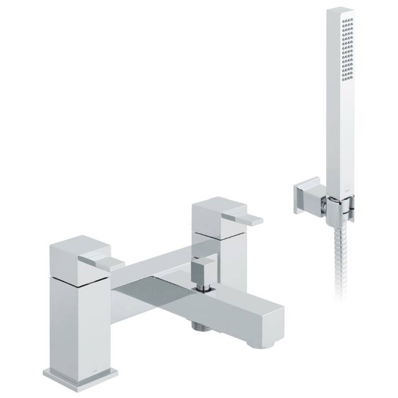 Vado Te Bath Shower Mixer With Shower Kit