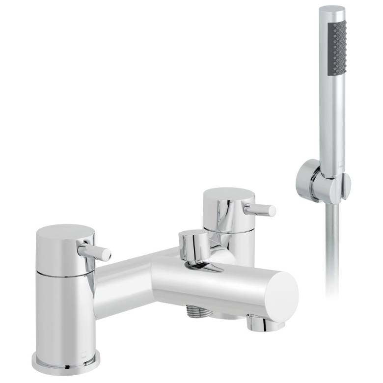 Vado Zoo Bath Shower Mixer With Shower Kit (ZOO-130+K-C/P)