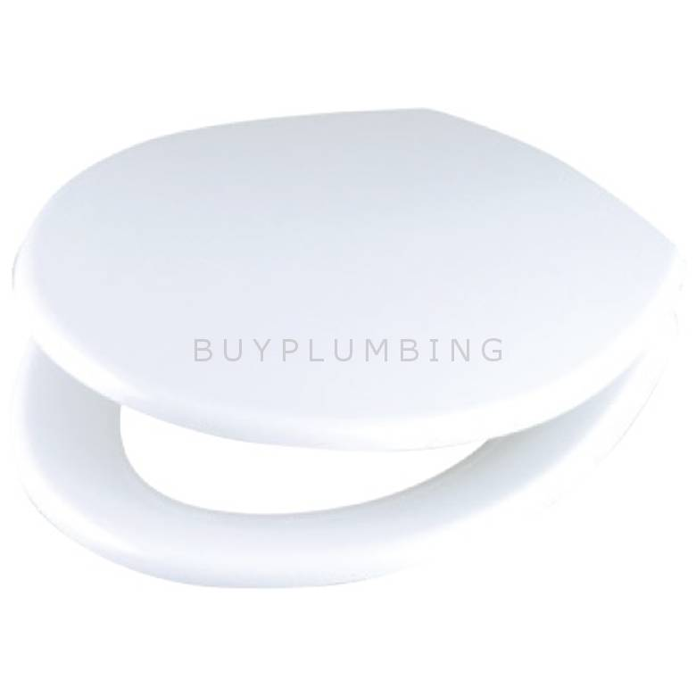 Wirquin Regent Toilet Seat With Stainless Steel Hinges (REGTS)