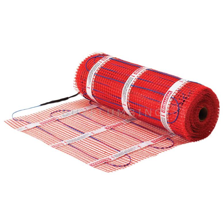 Warmup 200W/m2 StickyMat 0.5m2 Electric Underfloor Heating Mat 100W (0.44A) (2SPM0.5)