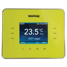 Warmup Leaf Green Programmable Energy-Monitor Underfloor Heating Thermostat