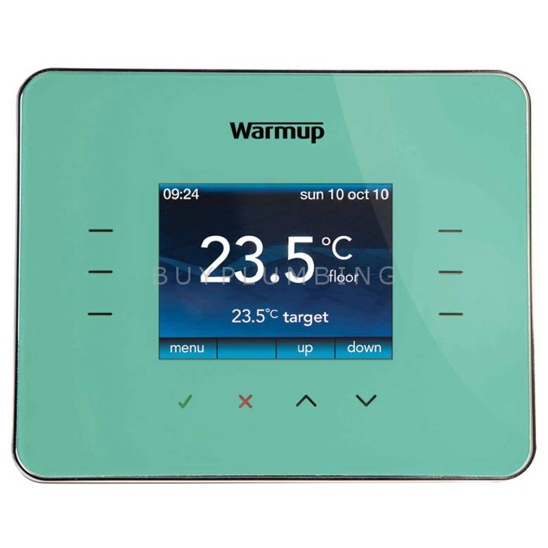 Warmup Madison Blue Programmable Energy-Monitor Underfloor Heating Thermostat